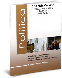 Policy Manual Spanish Cover